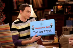sheldon - big Physics